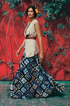 Marisol Maxi Dress - anthropologie.com- love this whole look! Want want want!!!
