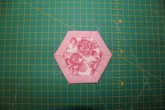 Tutorial - Quilt As You Go Hexagons