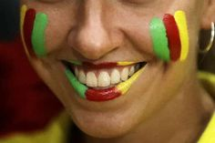 US women hold off scrappy Netherlands team in 5 sets  -  August 8, 2016  -        A young fan of team Cameroon smiles ahead of a Women's preliminary volleyball match between Cameroon and Japan at the 2016 Summer Olympics in Rio de Janeiro, Brazil, Monday, Aug. 8, 2016. (AP Photo/Matt Rourke)