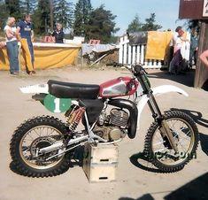 Motocross Bikes, Vintage Motocross, Cars And Motorcycles, Motorbikes, Husky, Dirt Biking, Champion, Track, Sweet