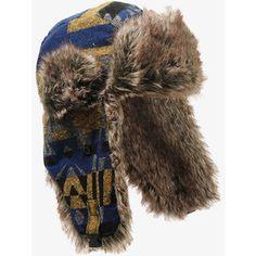 fur trapper hat patterns - Google Search