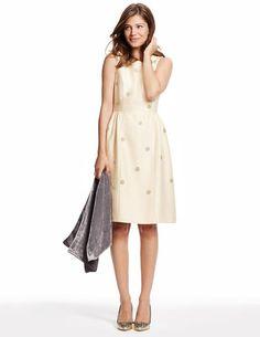 Embellished Spot Dress WH707 Special Occasion Dresses at Boden