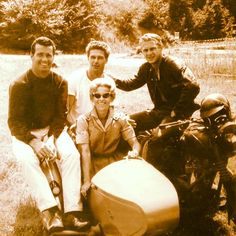 .  Bud & Betty Ekins, and sometimes-freinds / sometimes-rivals Steve McQueen James Garner