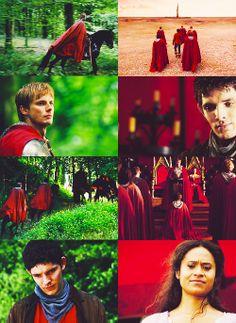 Merlin + green & red