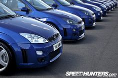 Original Ford Focus RS mk1 Imperial Blue Color