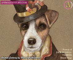 Painting of Jack Russell Terrier Art
