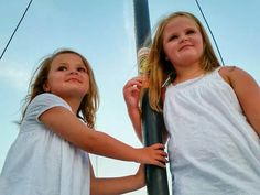Bella and Addy Marsack,  what Beautiful Little Girls, my Sweet Nieces