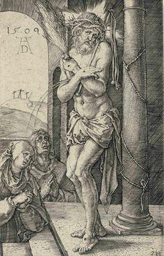Albrecht Durer (1471-1528) Ecce Homo 1509 (116 x 73 mm)