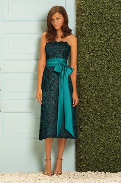 Dessy Bridesmaid Dress- this has always been one of my faves, I actually picked this out ( a grey & teal version) for my bridesmaids