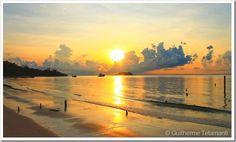 Praia em Koh Rong - Camboja