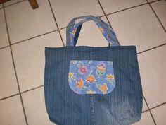bolsas: Eco Bag Jeans Reciclado