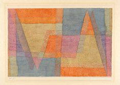 "retroavangarda: "" Paul Klee – Light and Sharp Edges, 1935 "" Wassily Kandinsky, Cavalier Bleu, Paul Klee Art, August Macke, Textiles Sketchbook, Illustration Art, Illustrations, Expositions, Textile Artists"