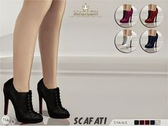 My Sims 4 Blog: Shoes - Boots
