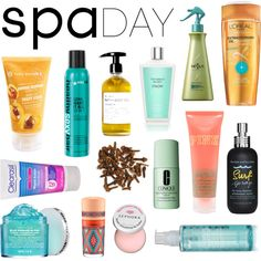Spa day with my favorites :) Surf Spray, Fig And Yarrow, Peter Thomas Roth, Yves Rocher, Spa Day, Loreal, Mac Cosmetics, Sephora, Bottle