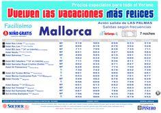 2ªEdición Las vacaciones mas felices. Hoteles en Mallorca salidas desde Las Palmas - http://zocotours.com/2aedicion-las-vacaciones-mas-felices-hoteles-en-mallorca-salidas-desde-las-palmas/