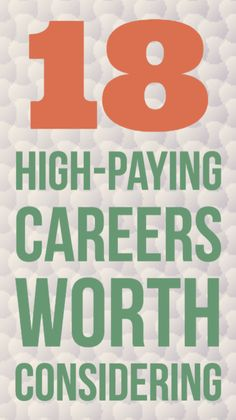 If you're college bound and considering future career options,  this is a great list to consider. Career Path, Career Goals, Career Advice, Career Ideas, Career Planning, Career Quotes, Career Success, Way To Make Money, Finance