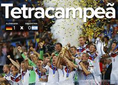 Canadauence TV: Copa 2014: Só deu Alemanha, o país do futebol