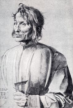 The Architect Hieronymus Of Augsburg  by Albrecht Durer (ARC)