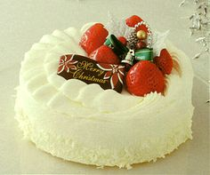 Japanese Short Cake. Christmas Cake Catalog by IZUMIYA.