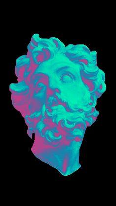 vaporwave space ULTRA /// vaporwave / c - vaporwave Vaporwave Wallpaper, Cyberpunk Aesthetic, Vaporwave Art, Glitch Art, Greek Art, Grafik Design, Aesthetic Art, Graphic, Aesthetic Wallpapers