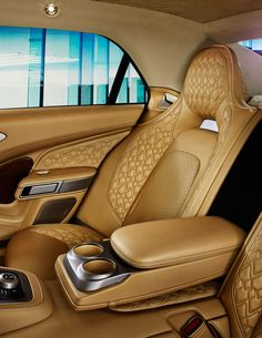 Photographs of the 2016 Aston Martin Lagonda. An image gallery of the 2016 Aston Martin Lagonda. Aston Martin Lagonda, Custom Car Interior, Car Interior Design, Automotive Design, Interior Ideas, Bmw Interior, Aston Martin Interior, New Aston Martin, Automobile