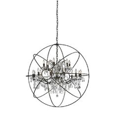 "Orb Chandelier 45"", $1,529, now featured on Fab."