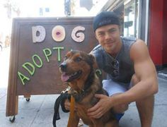 Derek Hough and new dog Romeo