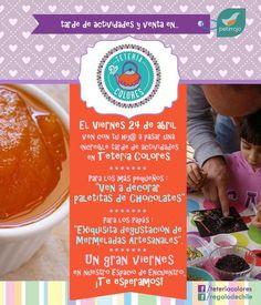 El próximo 24 de abril en Tetería Colores de Quillota realizaremos entretenidas actividades con chocolates y mermeladas artesanales para grandes y chicos.