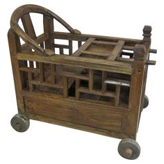 19th Century Baby Minder-China-1850 HEIGHT:23 in. (58 cm) WIDTH:25 in. (63 cm) DEPTH:14 in. (36 cm)