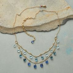 SONATA IN BLUE NECKLACE: View 2