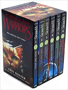 Warriors Box Set: Volumes 1 to 6: The Complete First Series: Erin Hunter: 9780062367143: Books - Amazon.ca