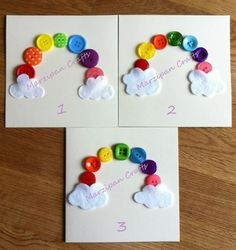 rainbows-would be cute for bday invites