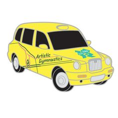 2012 Olympics London Taxi - Artistic Gymnastics Pin