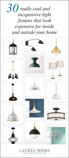 30 light fixtures from Lamps Plus affordable light fixtures