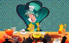 My favorite character from Alice in Wonderland is the Mad Hatter because, frankly, he's so delightfully wacky. Today is the best day for fans of this crackpot character . Blog Wallpaper, Disney Wallpaper, Cartoon Wallpaper, Mad Hatter Day, Disney Parks Blog, Disney Pixar Movies, Disney Background, Disney Artwork, Disney Images