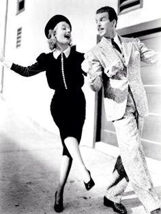 1937 Carole Lombard & Fred MacMurrey in True Confessions--l'esprit swing's