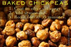 Baked chickpeas