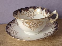 Antique 1890's Foley China company tea cup and by ShoponSherman
