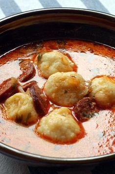 Croatian Recipes, Hungarian Recipes, Easy Cooking, Cooking Recipes, Hungarian Cuisine, Food 52, Main Meals, Easy Healthy Recipes, My Favorite Food