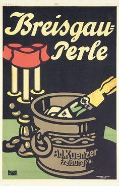 85: Original LUCIAN BERNHARD Plakat Poster 1907 : Lot 85