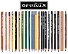 General-Pencil-Range Pastel Pencils, Watercolor Pencils, Colored Pencils, 2 Pencil, Pencil Drawings, Derwent Pencils, Wooden Pencils, Artist Pencils