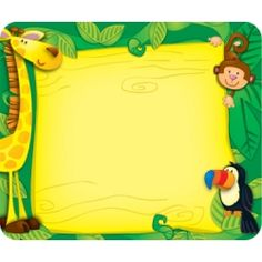 Jungle Name Tags, CD-150002