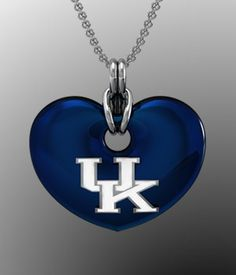 i can so make that! UK heart necklace