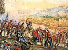 Η Μάχη του Λεβιδίου: Αποφασιστική μάχη για την ανύψωση του ηθικού των επαναστατημένων Ελλήνων, που δόθηκε στις 14 Απριλίου 1821...