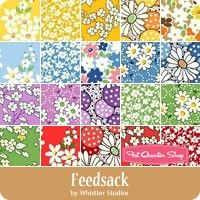 Feedsack Fat Quarter Bundle Whistler Studios for Windham Fabrics