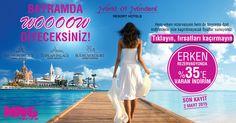 WOW Otelleri'nin %35'e varan indirimleri ile tatilinizi gecikmeden planlamaya başlayın… #mngturizm #tatiliste #wow #antalya #bodrum #tatil #holiday #travel