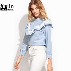 e347ce04885d8 ru.aliexpress.com store product SheIn-Women-Tops-and-Blouses