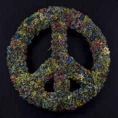 Peace Vol 6 Peacezeichen mit Hortensien Art, Hydrangeas, Peace Signs, Art Background, Kunst, Performing Arts, Art Education Resources, Artworks