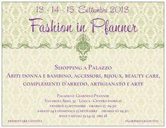 #Fashion in Pfanner #Lucca http://omaventiquaranta.blogspot.it/2013/08/fashion-in-pfanner-dal-13-al-15.html