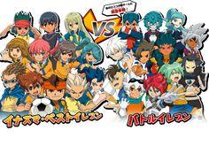 Inazuma Best Eleven vs Battle Eleven